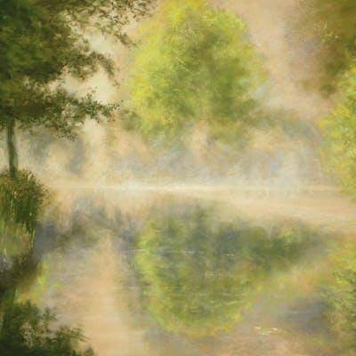Denis HERNANDEZ - Brume sur l'étang