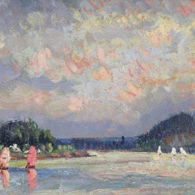 Albert MALET - Voiliers sur la Seine