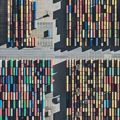 Aerial Views, Harbour 02 - Bernhard Lang