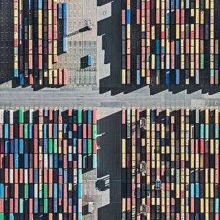 Aerial Views, Harbour 02 - Bernhard Lang