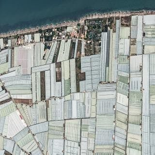 Aerial Views, Mar Del Plastico 08 - Bernhard Lang