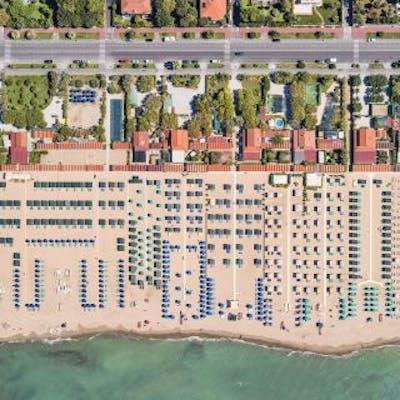 Aerial Views, Versilia 03 - Bernhard Lang