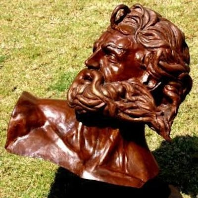 Bust of Prometheus Freed - Walter Peter Brenner