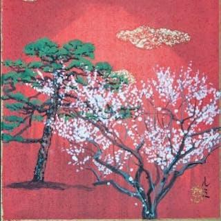 Pine and Plum tree - Lumi Mizutani