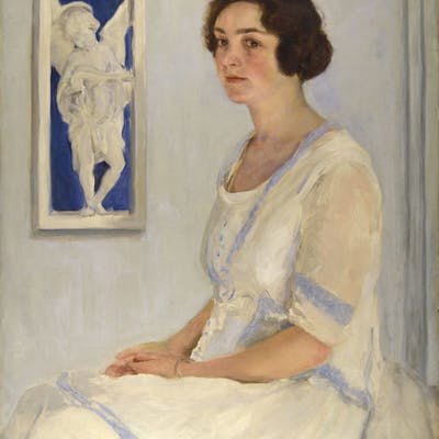 Portrait of Mrs Tom Mostyn, Circa 1925 - Leonard John Fuller