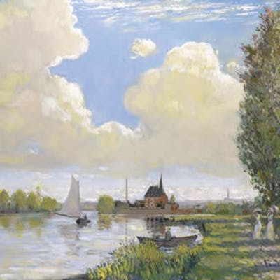Summer Afternoon, Argenteuill - John Myatt
