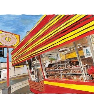 Donut Shop, 2016 - Bob Dylan