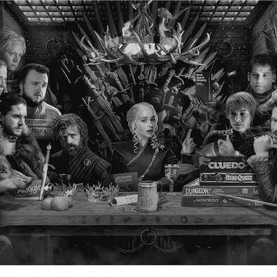 Board-Game of Thrones - Colour - JJ Adams