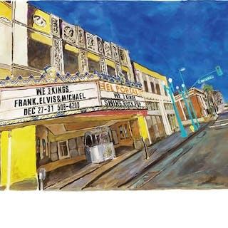 East L.A, Side Street, 2016 - Bob Dylan