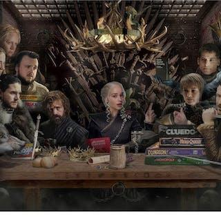 Board-Game of Thrones - Black & White - SALE - JJ Adams