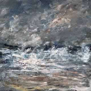 Abstract Seascape (040), 2017 - Andrea Scott