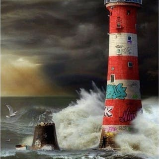 Eddystone Lighthouse - JJ Adams