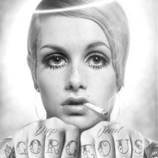 Drop Dead Gorgeous (black and white edition), 2018 - JJ Adams
