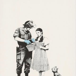 Stop and Search, 2007 - Banksy