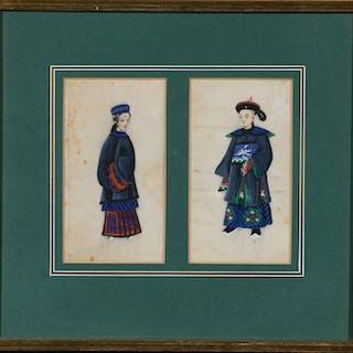 CHINE, Travail de Canton, XIXe siècle