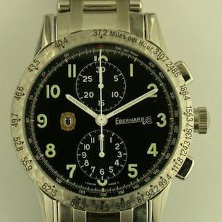 "Eberhard & Co. Chronograph ""Tazio Nuvolari"" - Unisex watch"
