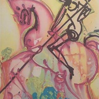 Salvador Dali - Saint - Georges - Les chevaux de Dali