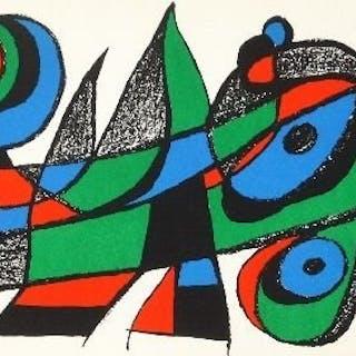 Joan Miró - Miró Sculpteur - 3 lithographies