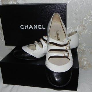 Chanel – leather pumps 39.5