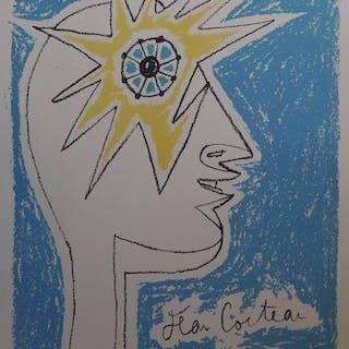 Jean Cocteau - Le profil, oeil à l'étoile