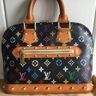 6bb9e5087793d Louis Vuitton - Discontinued Murakami Monogram Muliticolor Alma Bag Handbag