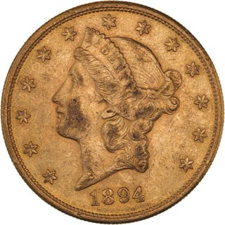 United States - 20 Dollars 1894-S Liberty Head - Gold