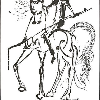 Salvador Dalí (after) - Portfolio The Horses of Salvador Dalí