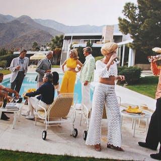 Slim Aarons (1916-2006) - 'Desert House Party', Palm Springs, 1970