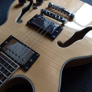 ChS - Hollowbody (ES335-model) Naturel - Electric guitar