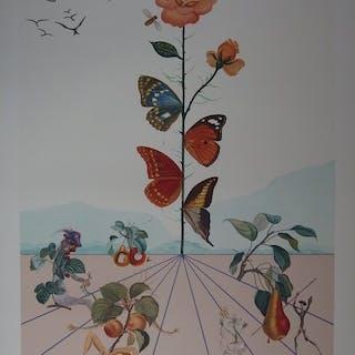 Salvador Dalí - Flordali II : La Rose Papillon