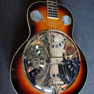 ChS - Spider Resonator Sunburst, Dobro-model - Resophonic guitar