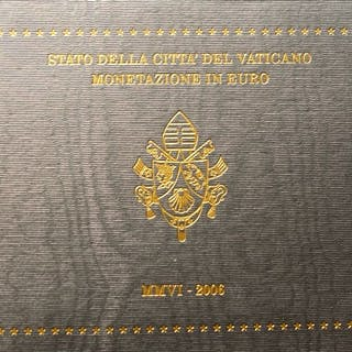 Vatikan - Kursmünzensatz 2006 Benedictus XVI