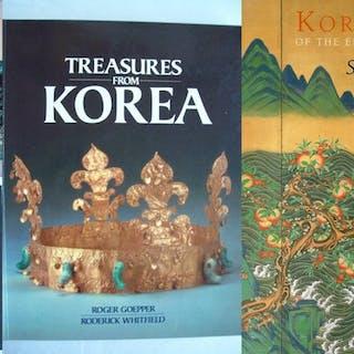 Korean Art - Lot with 4 books - 1972/1993