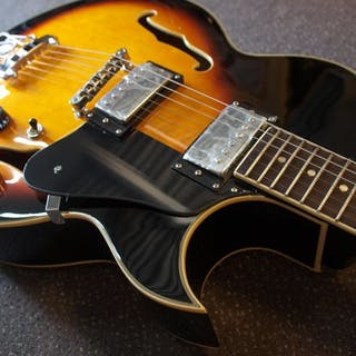 ChS - Vintage Sunburst Hollowbody - ES175-model - Hollow body