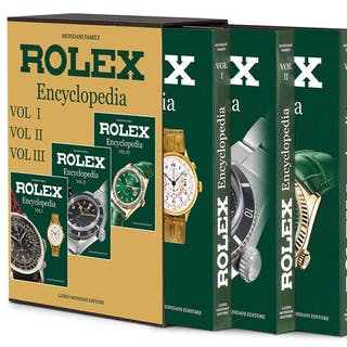 Rolex - Rolex Encyclopedia Book by Guido Mondani NEW - Unisex - 2011-presente