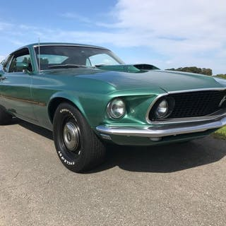 Ford - Mustang Mach 1 428 cobra jet - 1969