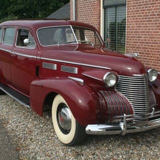 Cadillac - Towncar Saloontype 72 - 1940