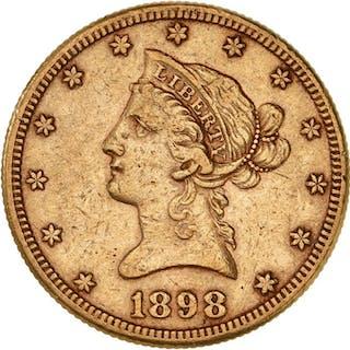 United States - 10 Dollars 1898-S Liberty Head - Gold