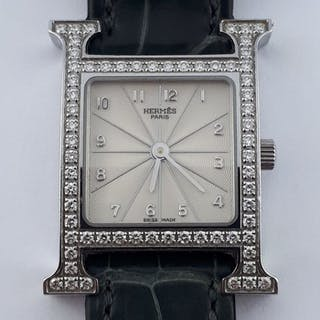 Hermès - Hour H Diamonds - HH1.230 - Women - 2000-2010 c364420821c18
