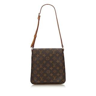 5fa0e62406 Louis Vuitton - Monogram Musette Salsa Short Strap – Current sales –  Barnebys.com