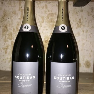 """Soutiran Grand Cru """"Signature"""" - Champagne Brut - 2 Magnumflasche (1,5 L)"""