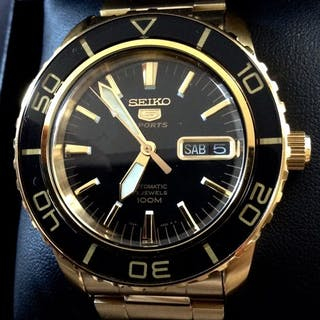 91c234094 Seiko -Automatic - Fifty Fathoms - Gold Black - Men - 2018