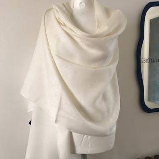 Gucci Grande stola in lana e seta