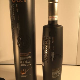 Octomore 5 years old 09.1 Dialogos 156ppm - b. 2018 - 0,7 l