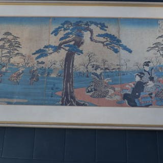 Original woodblock print