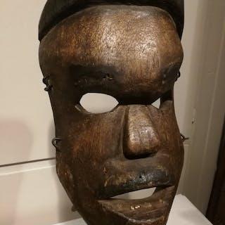 Mask - Wood - M'Baka - Congo DRC