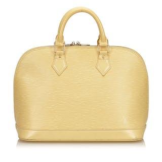 Louis Vuitton - Epi Alma PM – Current sales – Barnebys.com 0d29bce49bb