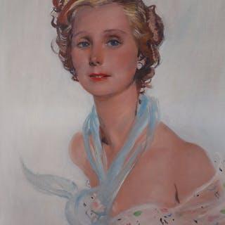 Jean-Gabriel Domergue (1889-1962) - La parisienne
