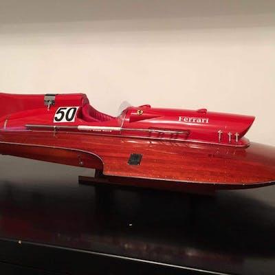 Scale boat model, 76cm - Wood - 21 century