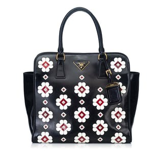 3cf8ab497a37 Prada - Leather Tote Bag Catawiki · Prada ...